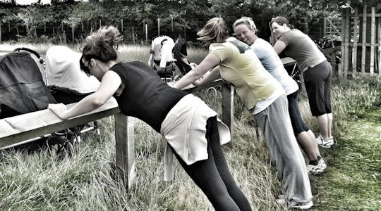 Ladies Fitness Buggy Class
