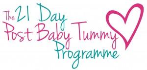 21 Day Post Baby Tummy Programme logo
