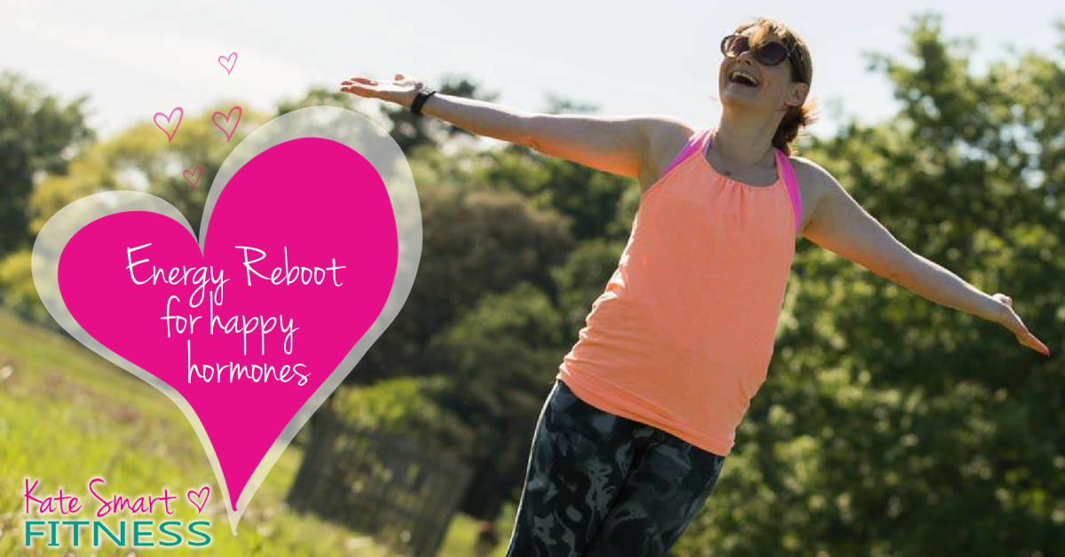 Energy reboot for happy hormones, with Kate Smart Fitness